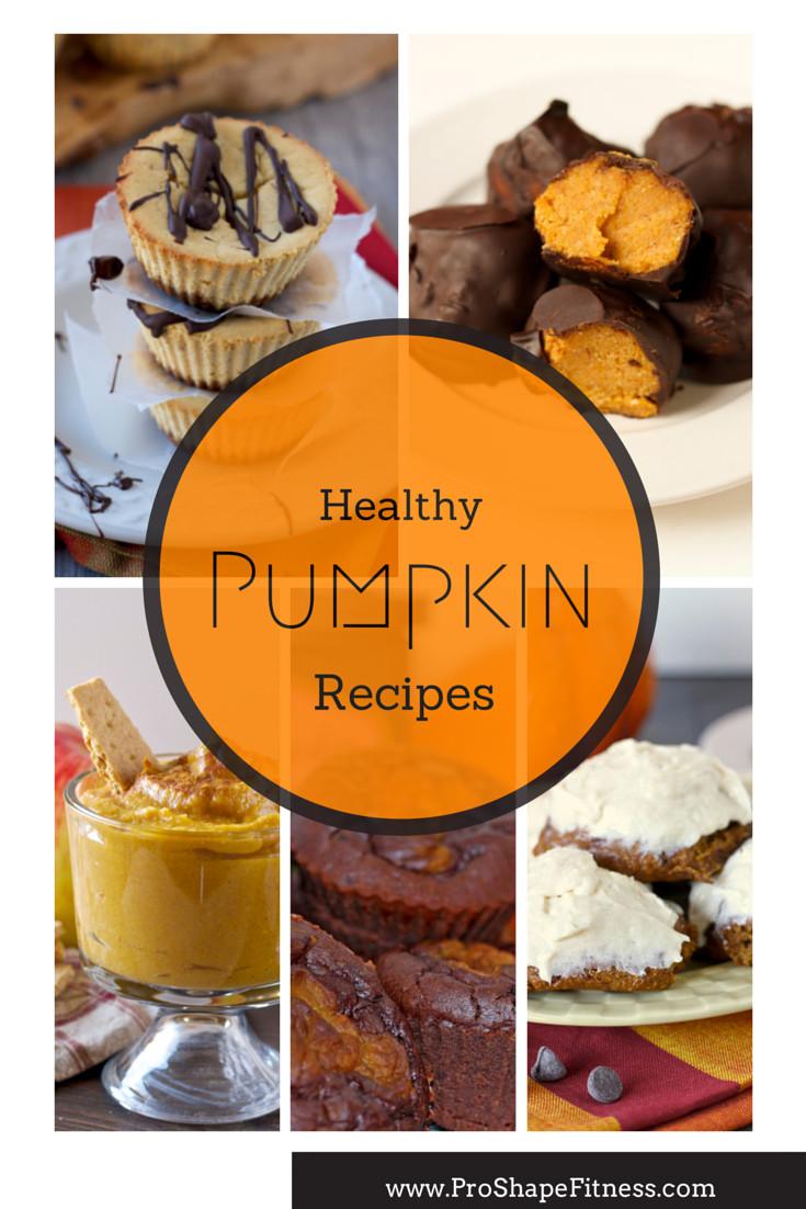 Healthy Pumpkin Recipes Dinner  Healthy Pumpkin Recipes for Thanksgiving ProShapeFitness