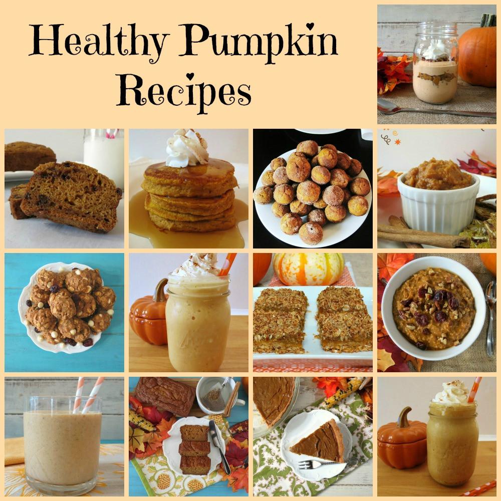 Healthy Pumpkin Recipes Dinner  Pinning and Planning Our Dinner Menu Week of August 31