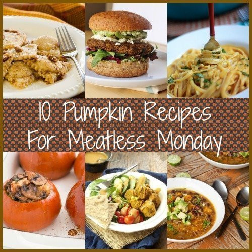 Healthy Pumpkin Recipes Dinner  Pumpkin for Dinner 10 Recipes for Meatless Monday