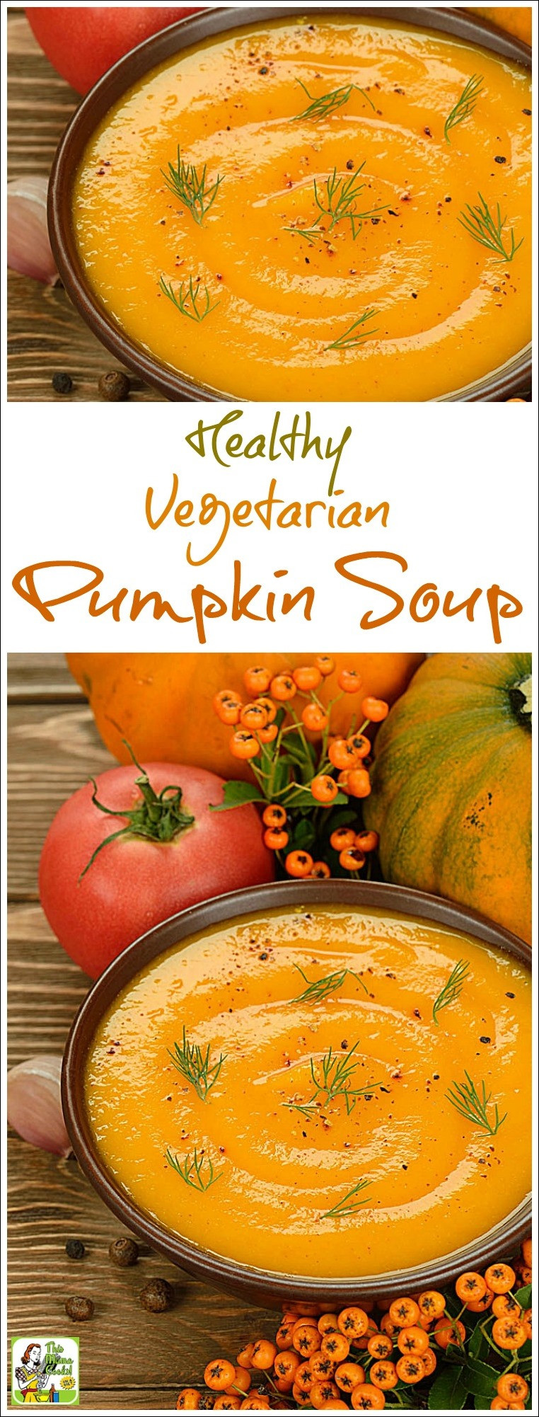 Healthy Pumpkin Recipes Easy  Healthy Ve arian Pumpkin Soup This Mama Cooks