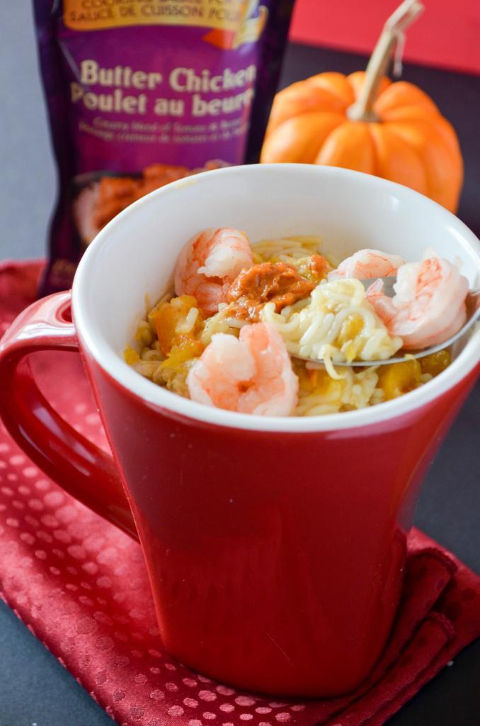 Healthy Pumpkin Recipes Easy  Easy Healthy Dinner Recipe Shrimp Noodles with Pumpkin
