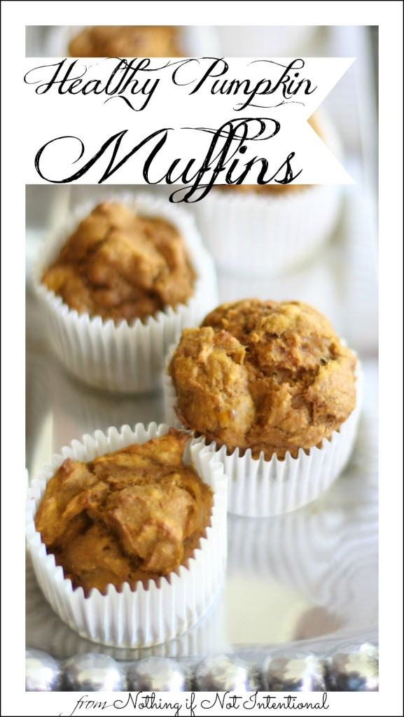 Healthy Pumpkin Recipes Easy  Healthy Pumpkin Muffin Recipe Easy to make and no oil