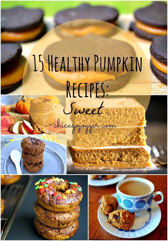 Healthy Pumpkin Recipes  Chicago Jogger 15 Healthy Pumpkin Recipes Sweet