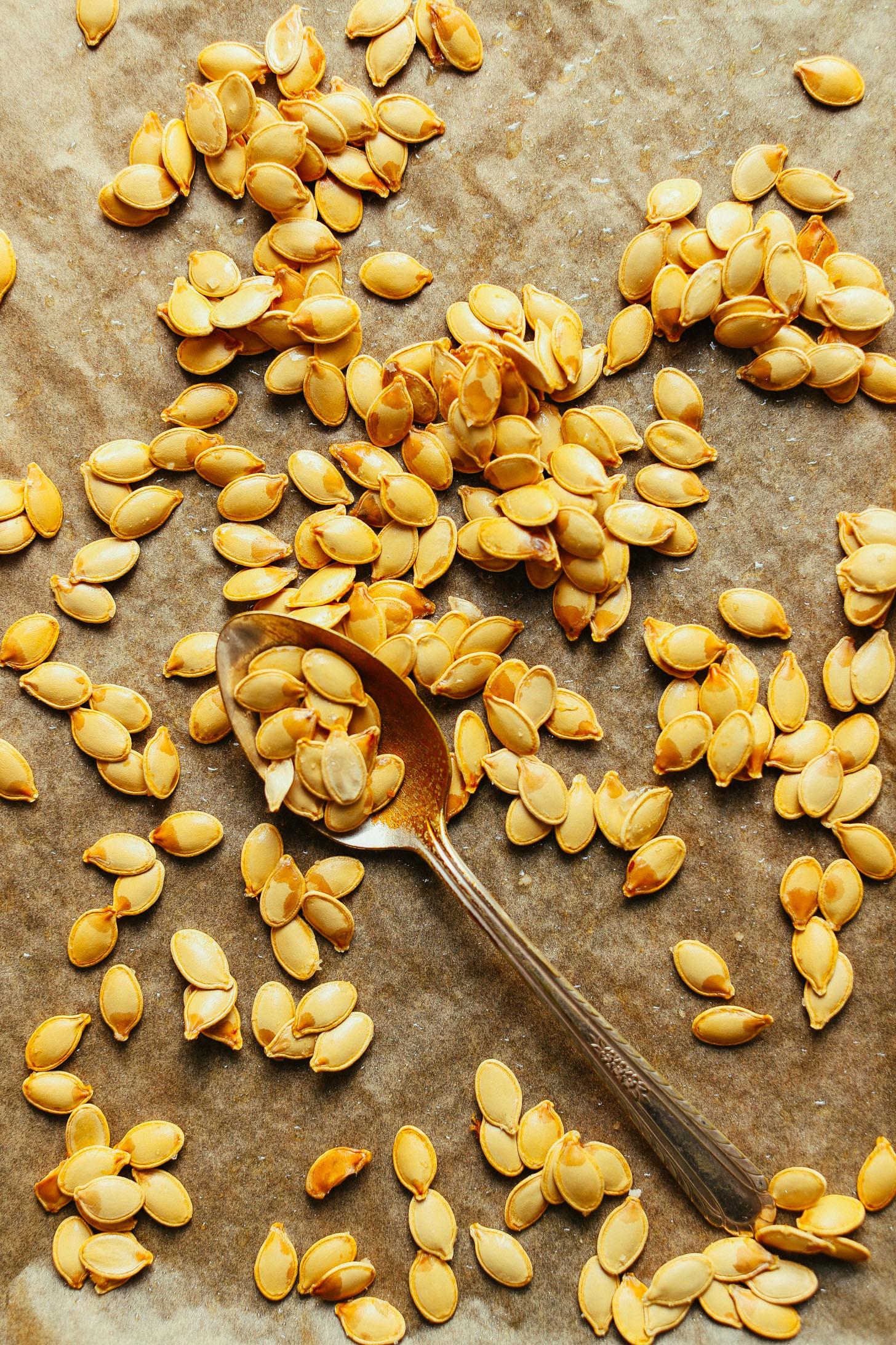Healthy Pumpkin Seed Recipes  How to Roast Pumpkin Seeds