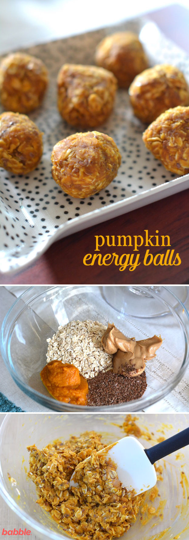 Healthy Pumpkin Seed Recipes  Pumpkin Energy Balls So Easy They Almost Make Themselves