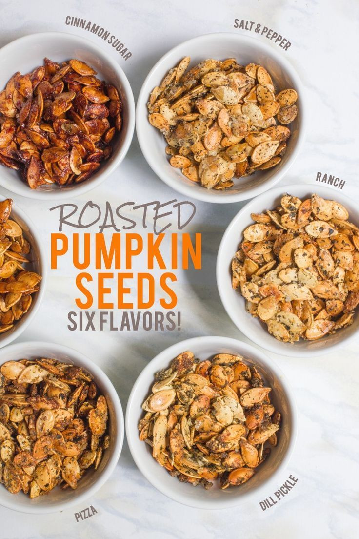 Healthy Pumpkin Seed Recipes  Healthy Recipes Roasted Pumpkin Seeds Six Different