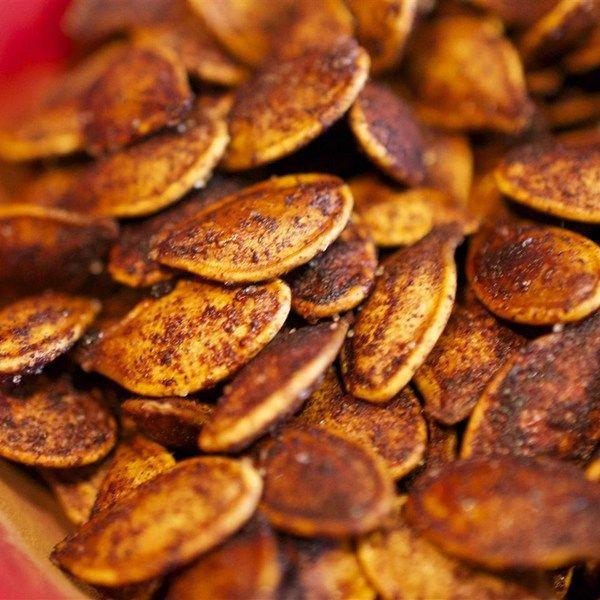 Healthy Pumpkin Seed Recipes  Roasted Cinnamon Spice Pumpkin Seeds