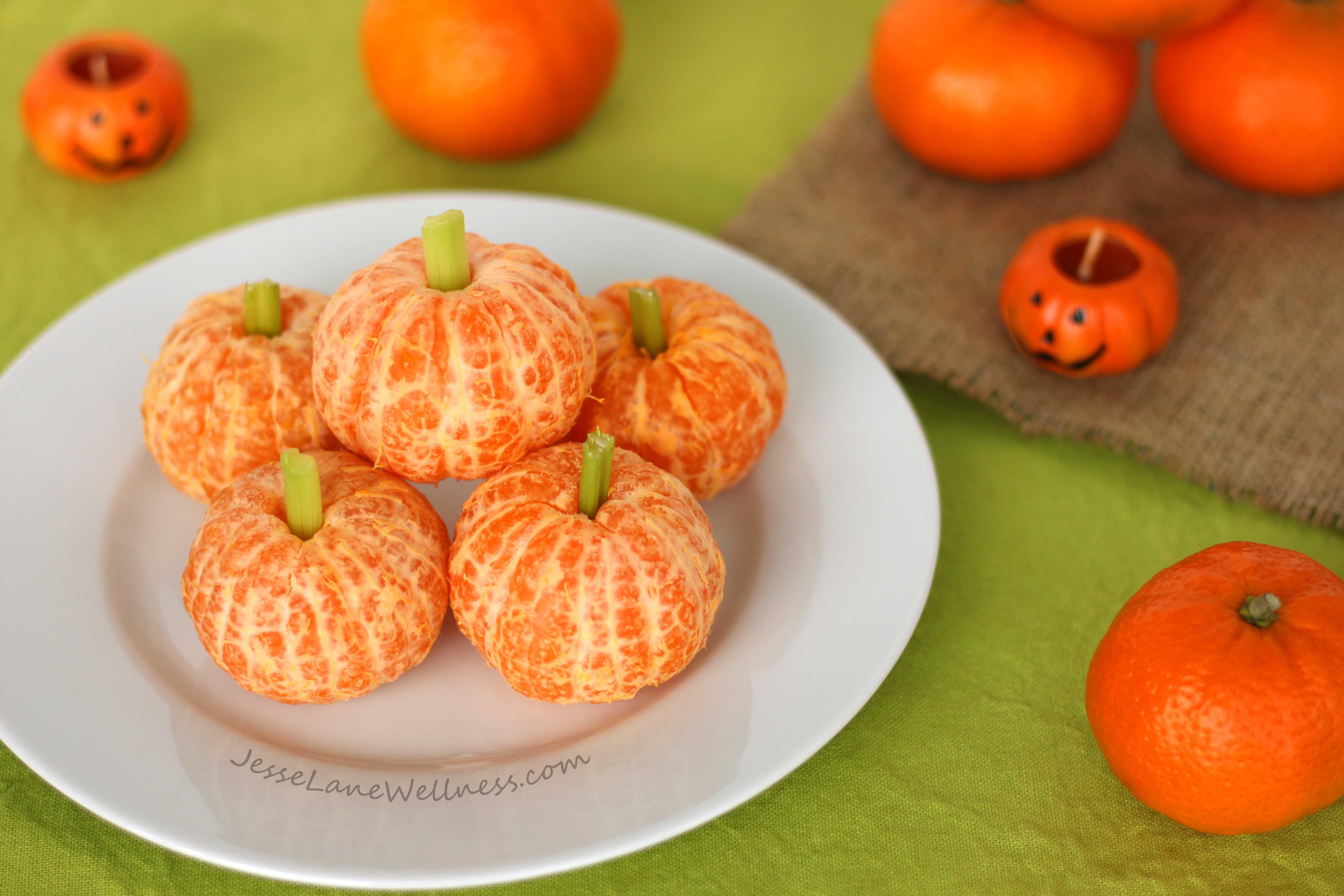 Healthy Pumpkin Snacks  Healthy Halloween Snacks Roundup by Jesse Lane Wellness