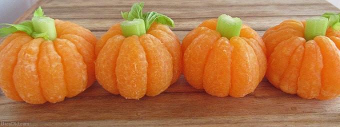 Healthy Pumpkin Snacks  Tangerine Pumpkins & 8 Other Healthy Halloween Treats