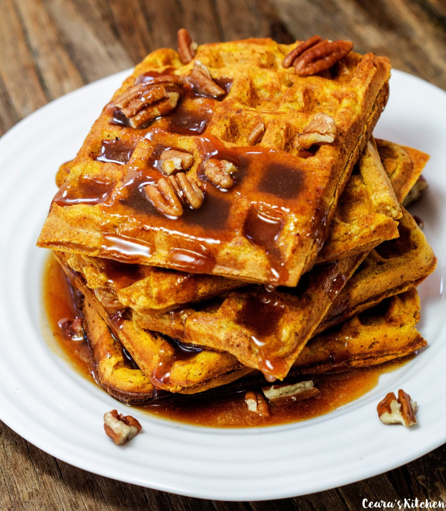 Healthy Pumpkin Waffles the top 20 Ideas About Healthy Pumpkin Waffles Vegan