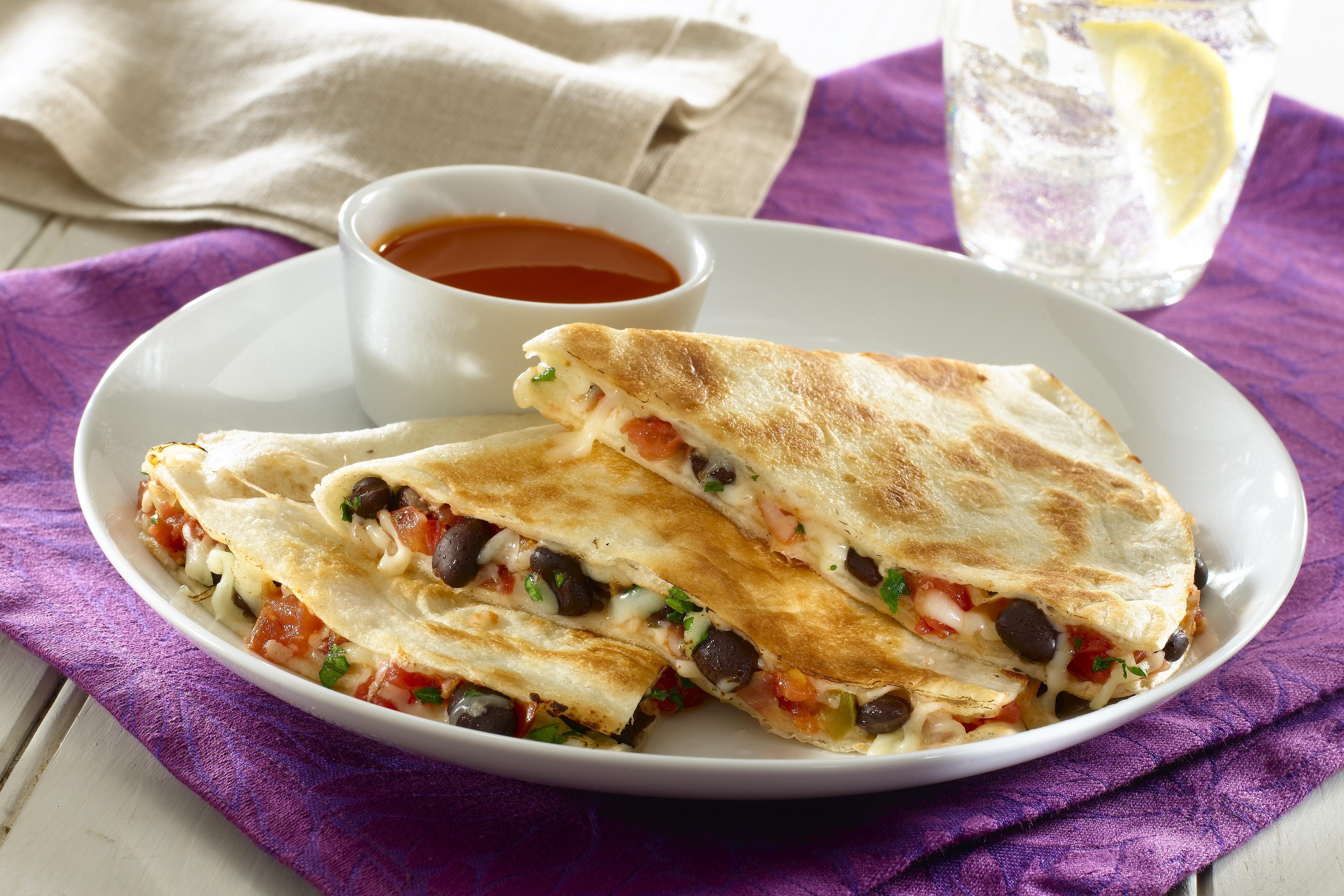 "Healthy Quesadillas Recipes  Black Bean Quesadilla Recipe from ""Healthy Tasty"