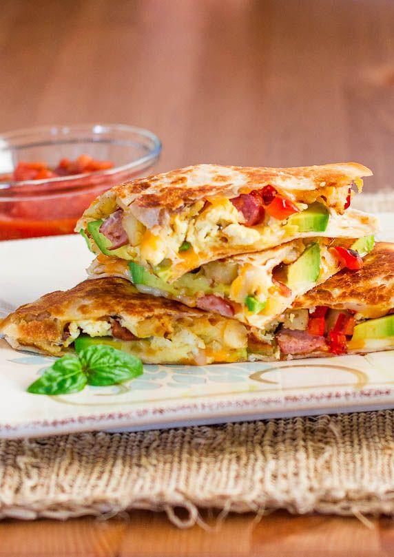 Healthy Quesadillas Recipes  Breakfast Quesadillas Recipe