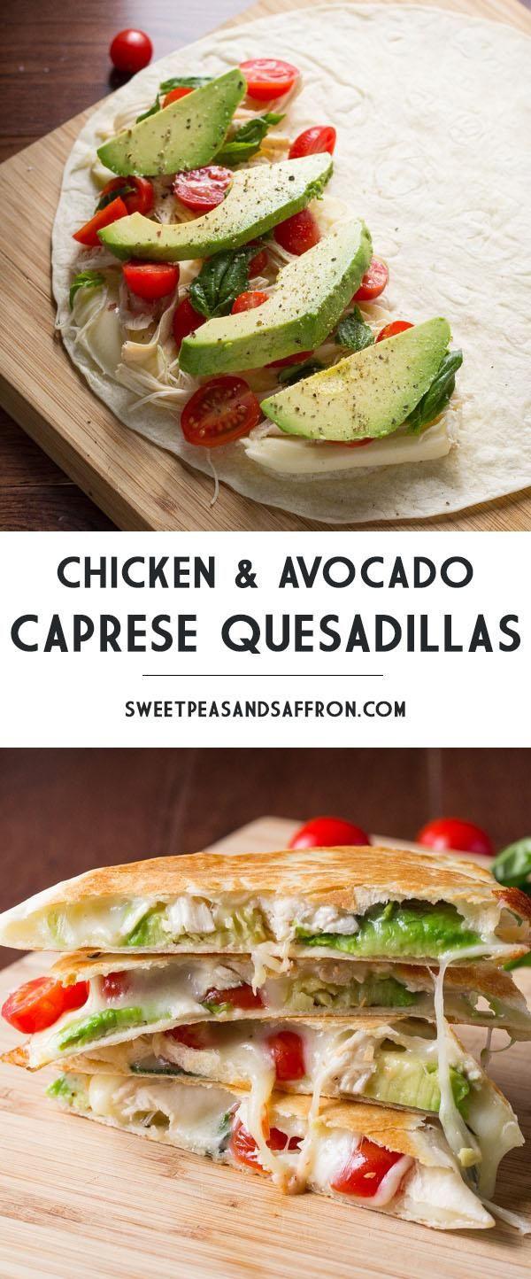 Healthy Quesadillas Recipes  100 Healthy quesadilla recipes on Pinterest