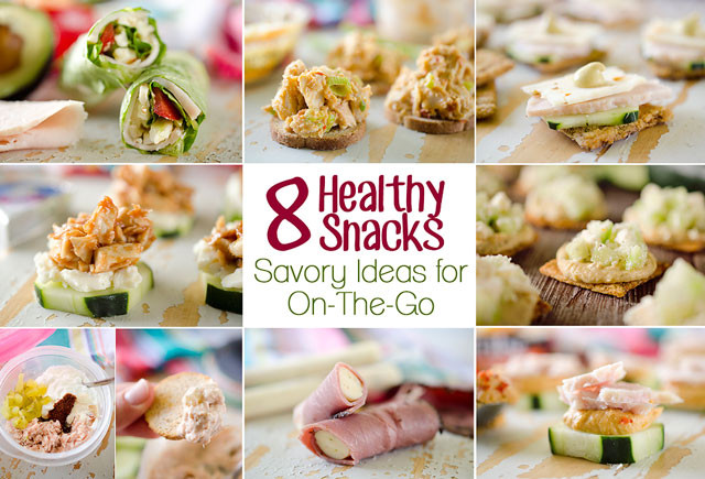 Healthy Quick Snacks Recipes  8 Healthy Snacks Savory Ideas