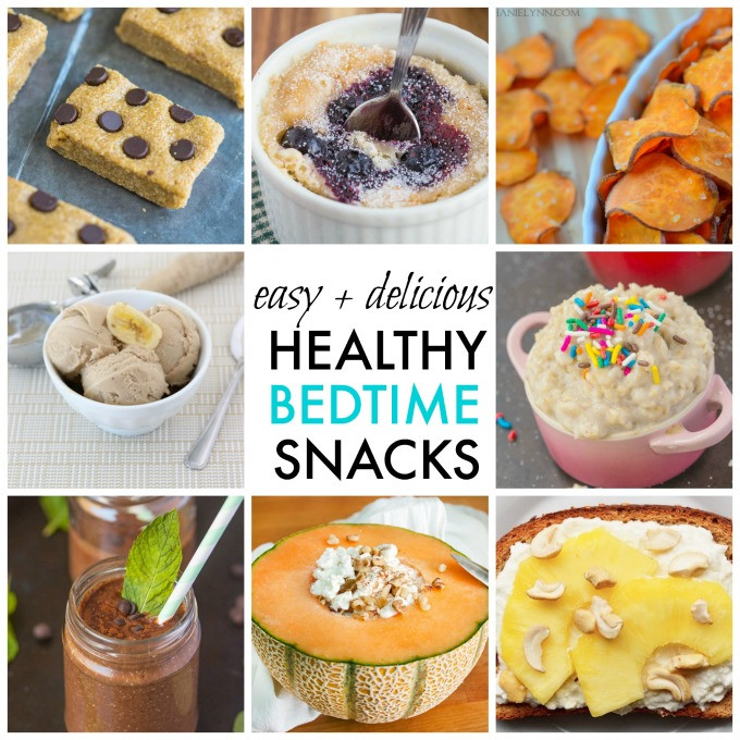 Healthy Quick Snacks Recipes  10 Quick Easy and Healthy Bedtime Snack Ideas