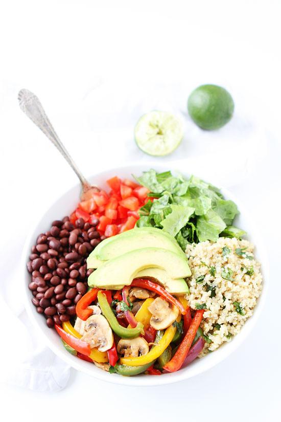 Healthy Quinoa Bowls  Fajita Quinoa Bowls Recipe