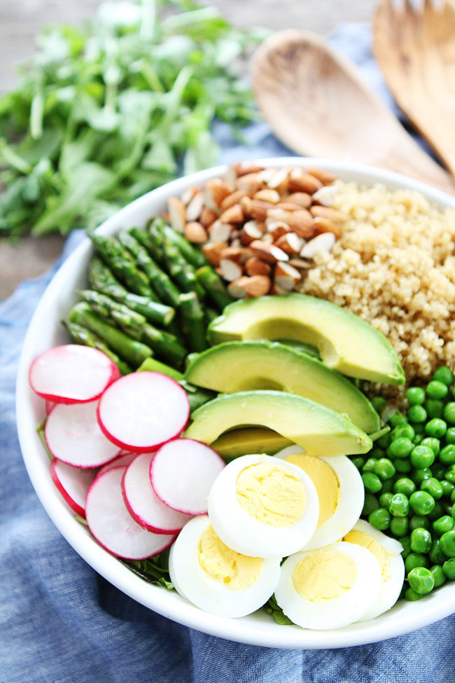 Healthy Quinoa Bowls  Spring Quinoa Bowl Recipe