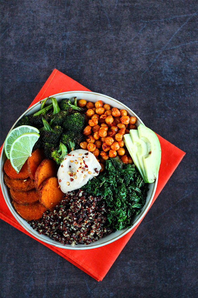 Healthy Quinoa Bowls  Roasted Veggie Quinoa Bowl I LOVE VEGAN