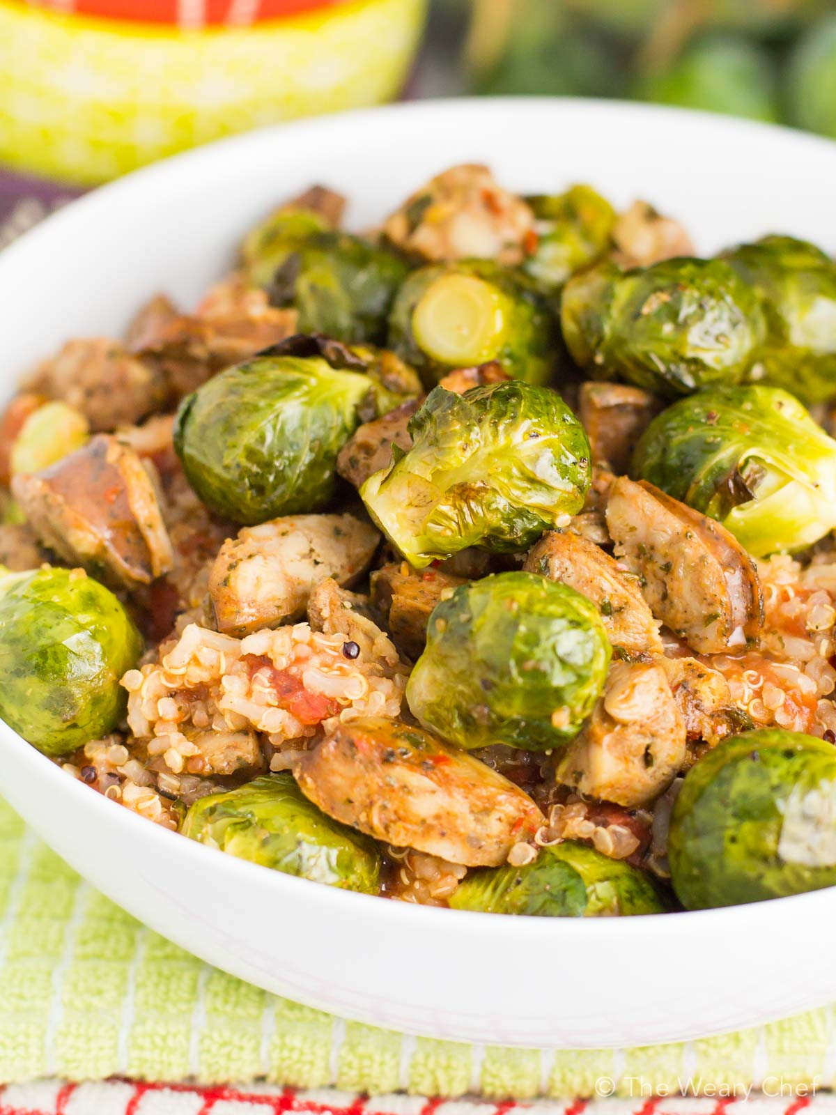 Healthy Quinoa Dinner Recipes  30 Minute Quinoa Recipe with Sausage and Brussels Sprouts