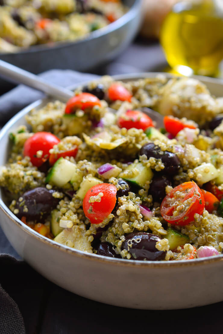 Healthy Quinoa Side Dish  35 Healthy Vegan Side Dish Recipes for an Easy Dinner