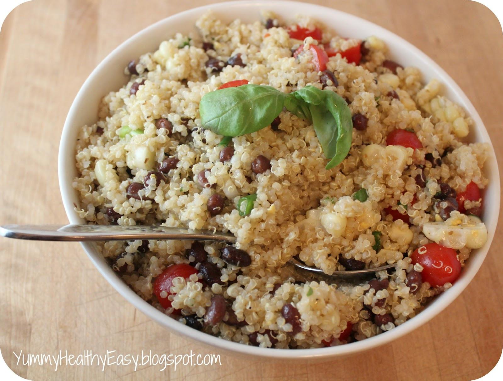 Healthy Quinoa Side Dish  The Perfect Side Dish Easy Quinoa Salad Recipe Yummy