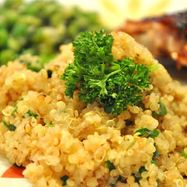 Healthy Quinoa Side Dish  1523 best Side Dish Recipes images on Pinterest