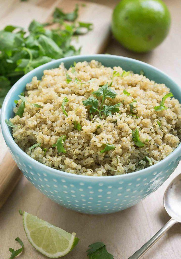 Healthy Quinoa Side Dish  Healthy Cilantro Lime Quinoa
