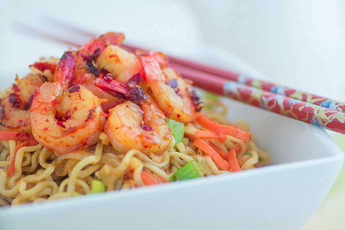 Healthy Ramen Noodles  Healthy Ramen Noodles with Shrimp Fun Love and Cooking