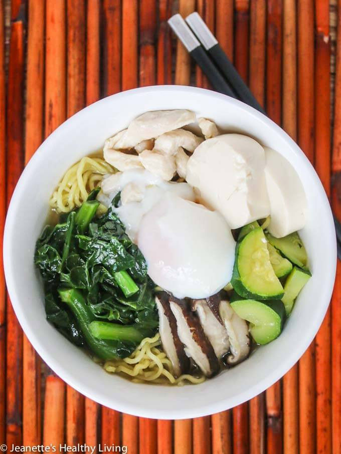 Healthy Ramen Noodles  Easy College Dinner Recipes with Printable Weekly Meal