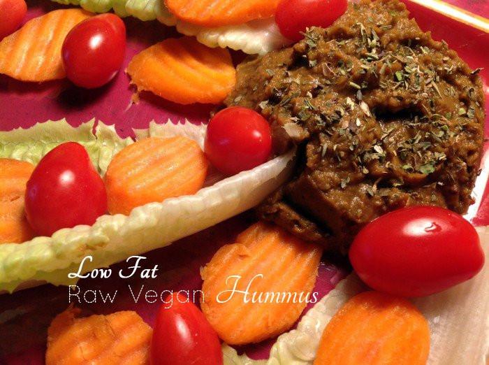 Healthy Raw Snacks  Healthy Snacks Low Fat Raw Vegan Hummus Peaceful Dumpling