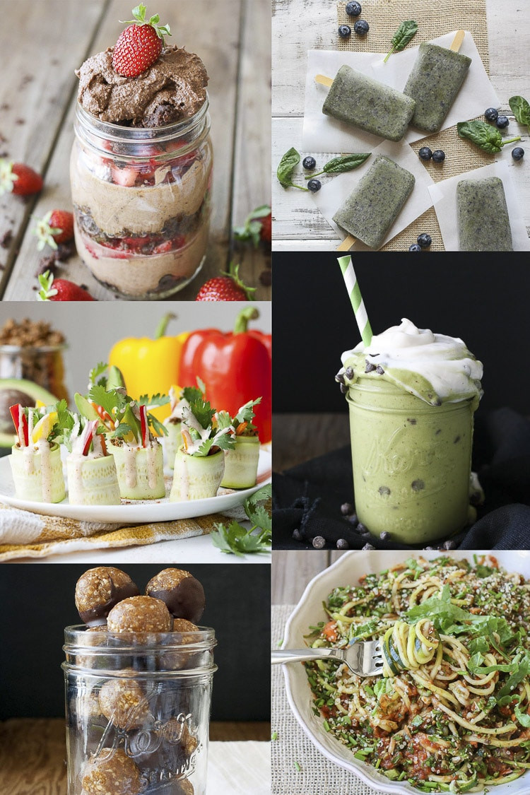 Healthy Raw Snacks  5 Day Raw Food Reset with Shopping List Veggies Don t Bite