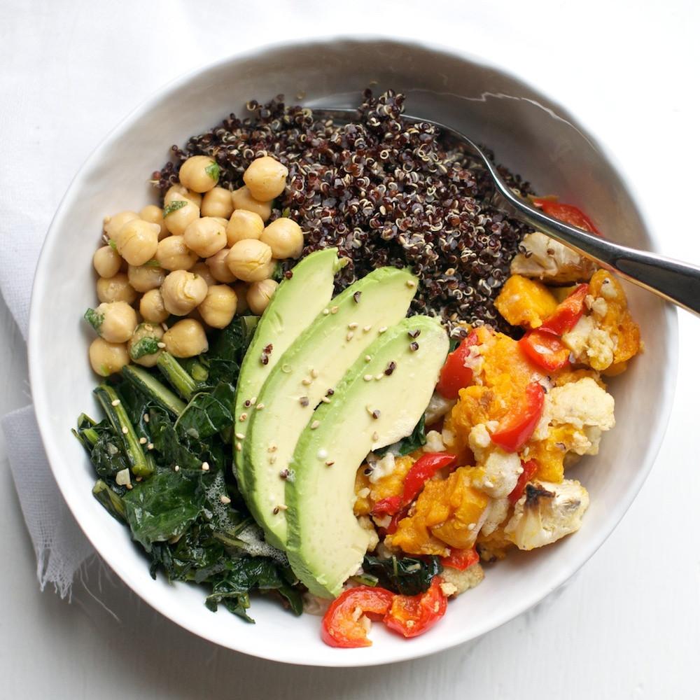 Healthy Raw Vegan Recipes  Buddha Bowl Recipe for Raw Food Transition