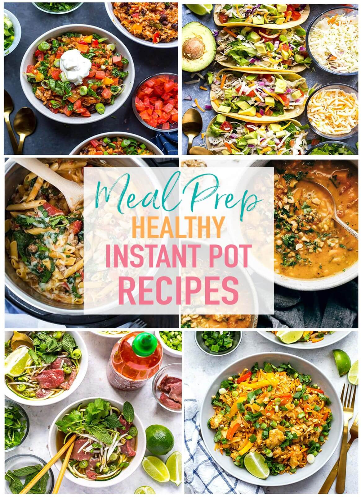 Healthy Recipes For Instant Pot  17 Healthy Instant Pot Recipes for Meal Prep The Girl on
