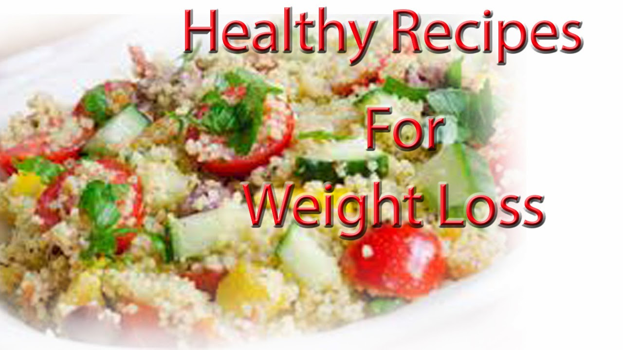 Healthy Recipes For Two Weight Loss  weight loss blog