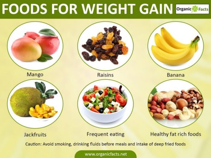 Healthy Recipes For Weight Loss And Muscle Gain  fattening foods to gain weight