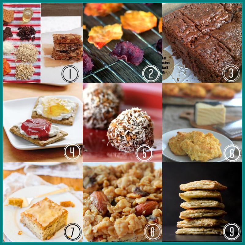 Healthy Recipes Snacks  back to school snacks Healthy Seasonal Recipes