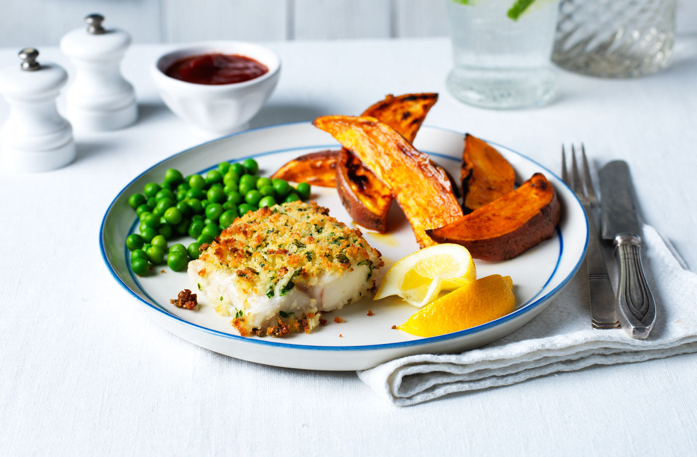 Healthy Recipes With Fish  Healthy fish and chips