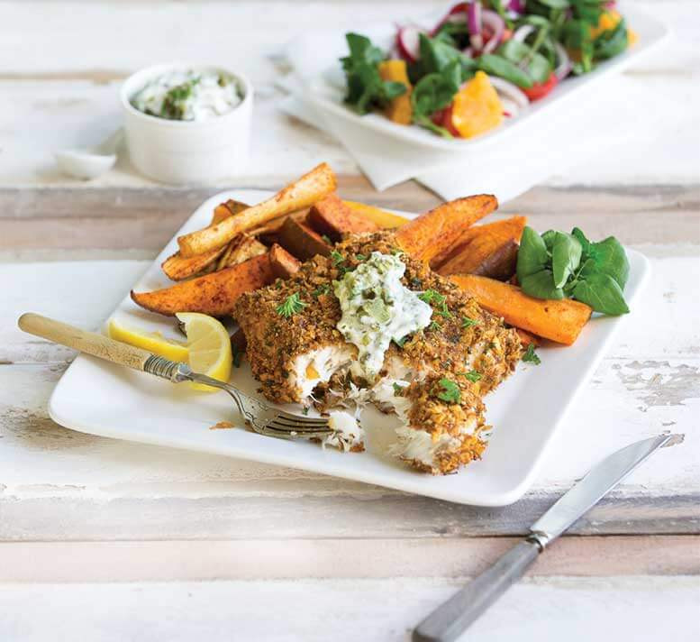 Healthy Recipes With Fish  Healthier fish and chips