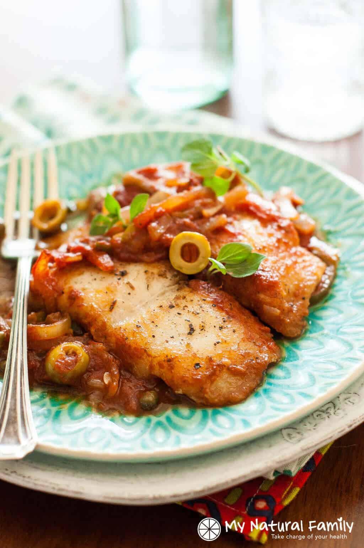 Healthy Recipes With Fish  Healthy Baked Fish Recipe Easy Fish Veracruz 3 Step Recipe