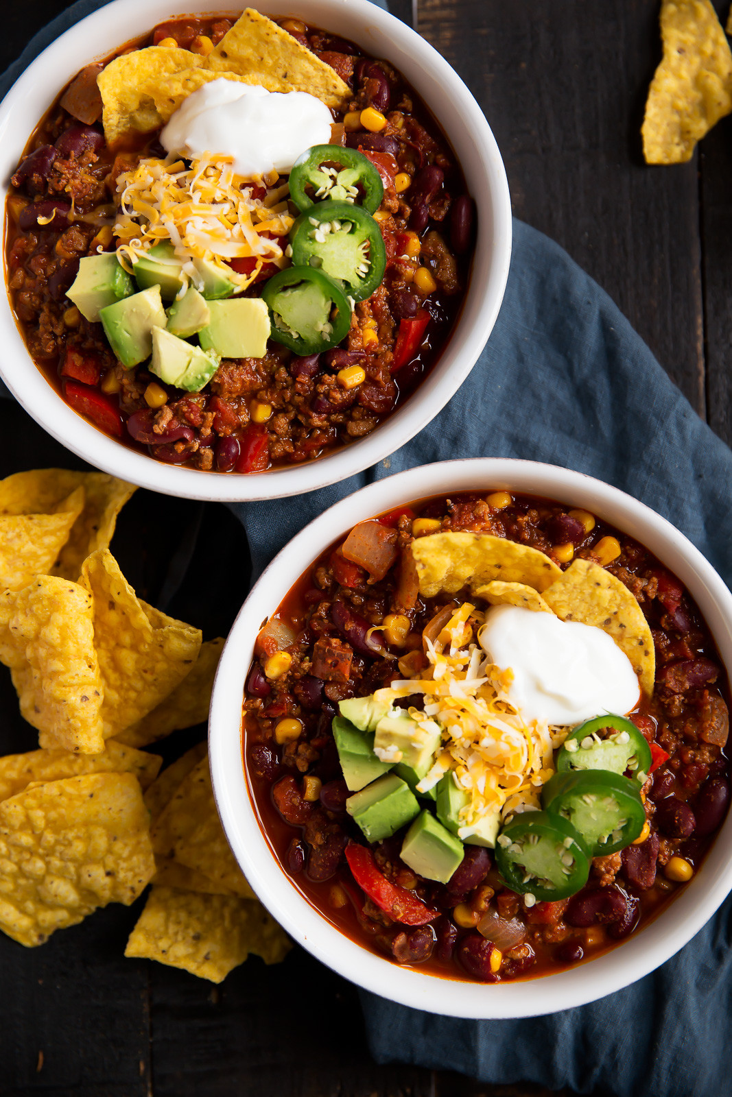Healthy Recipes With Ground Turkey  The Best Healthy Turkey Chili