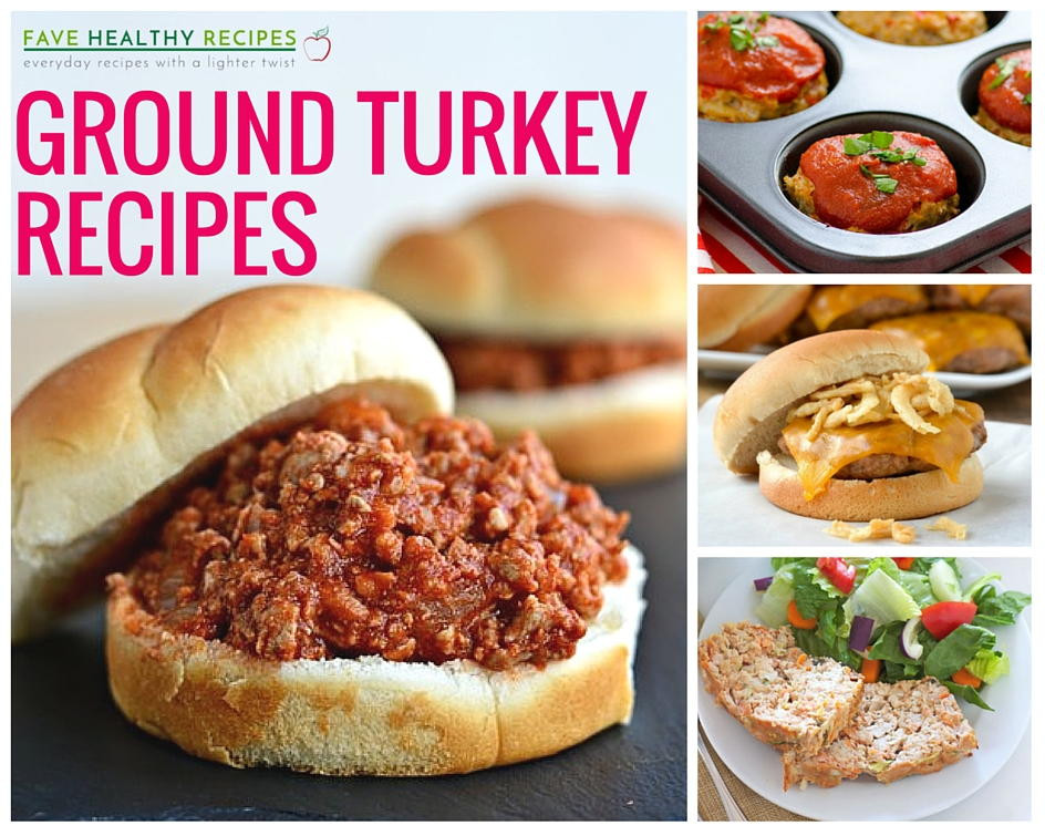 Healthy Recipes With Ground Turkey  23 Healthy Ground Turkey Recipes to Tempt You