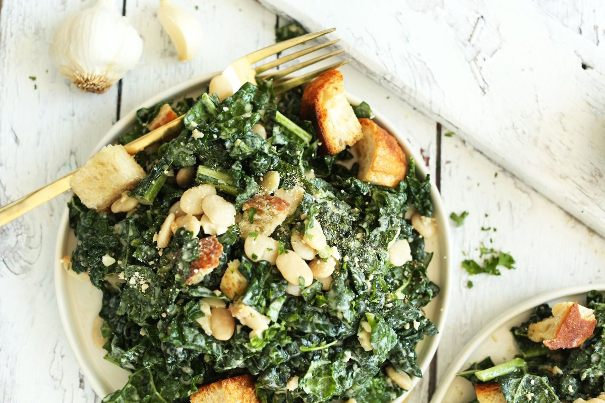 Healthy Recipes With Kale  4 Post Thanksgiving Healthy Salad Recipes for Meatless Monday