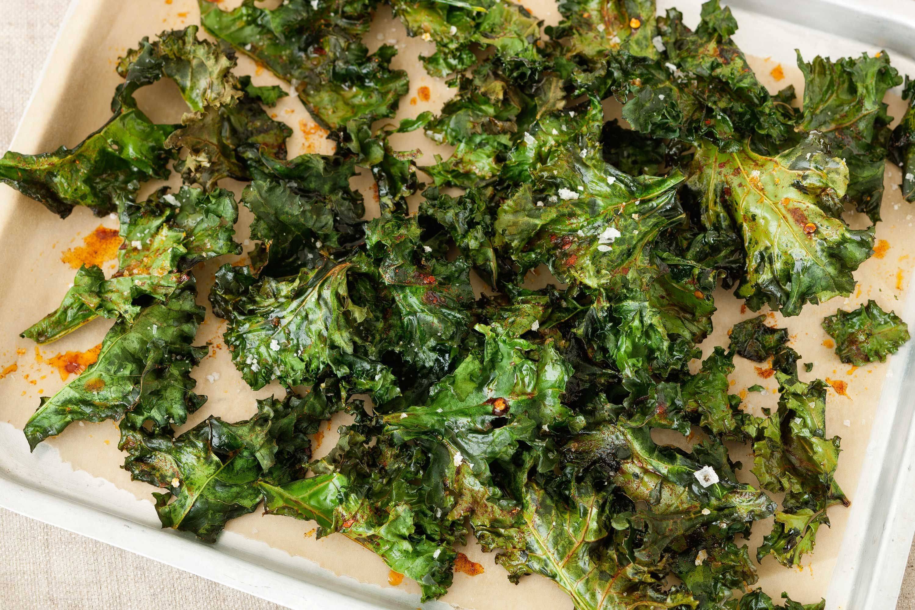 Healthy Recipes With Kale  are kale chips tasty