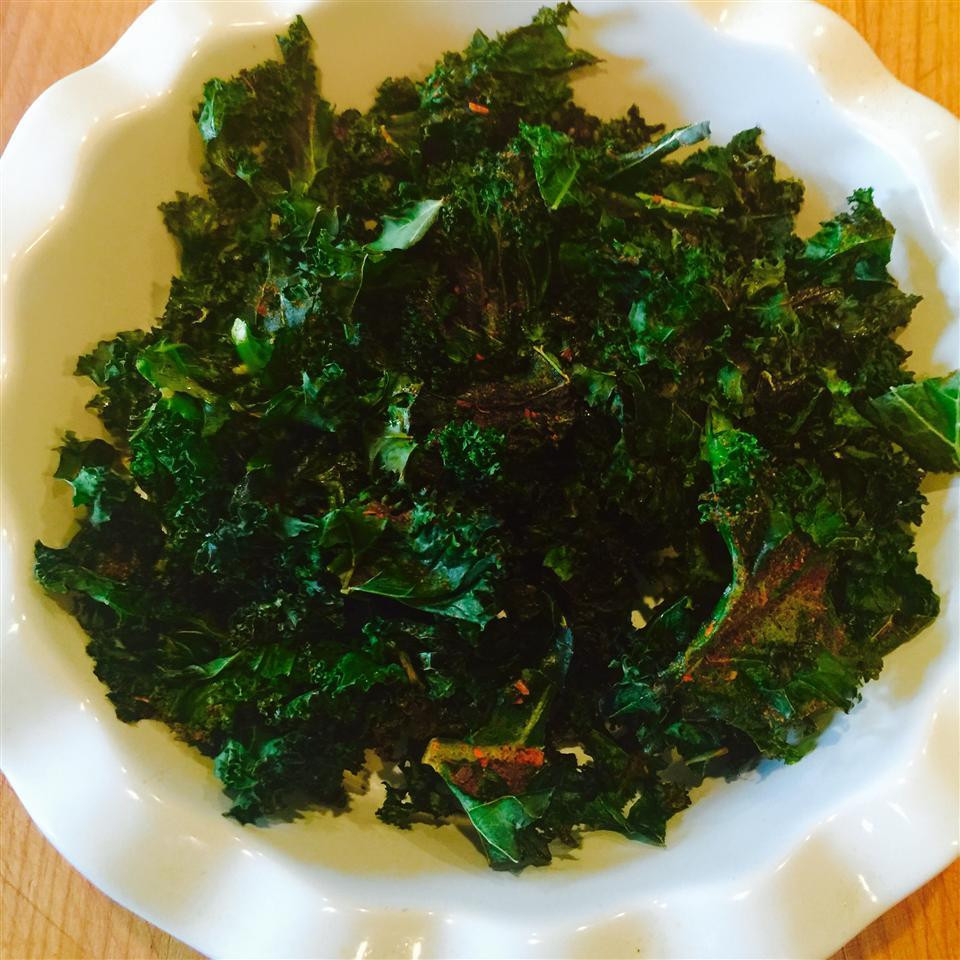 Healthy Recipes With Kale  Healthy kale crisps recipe All recipes UK
