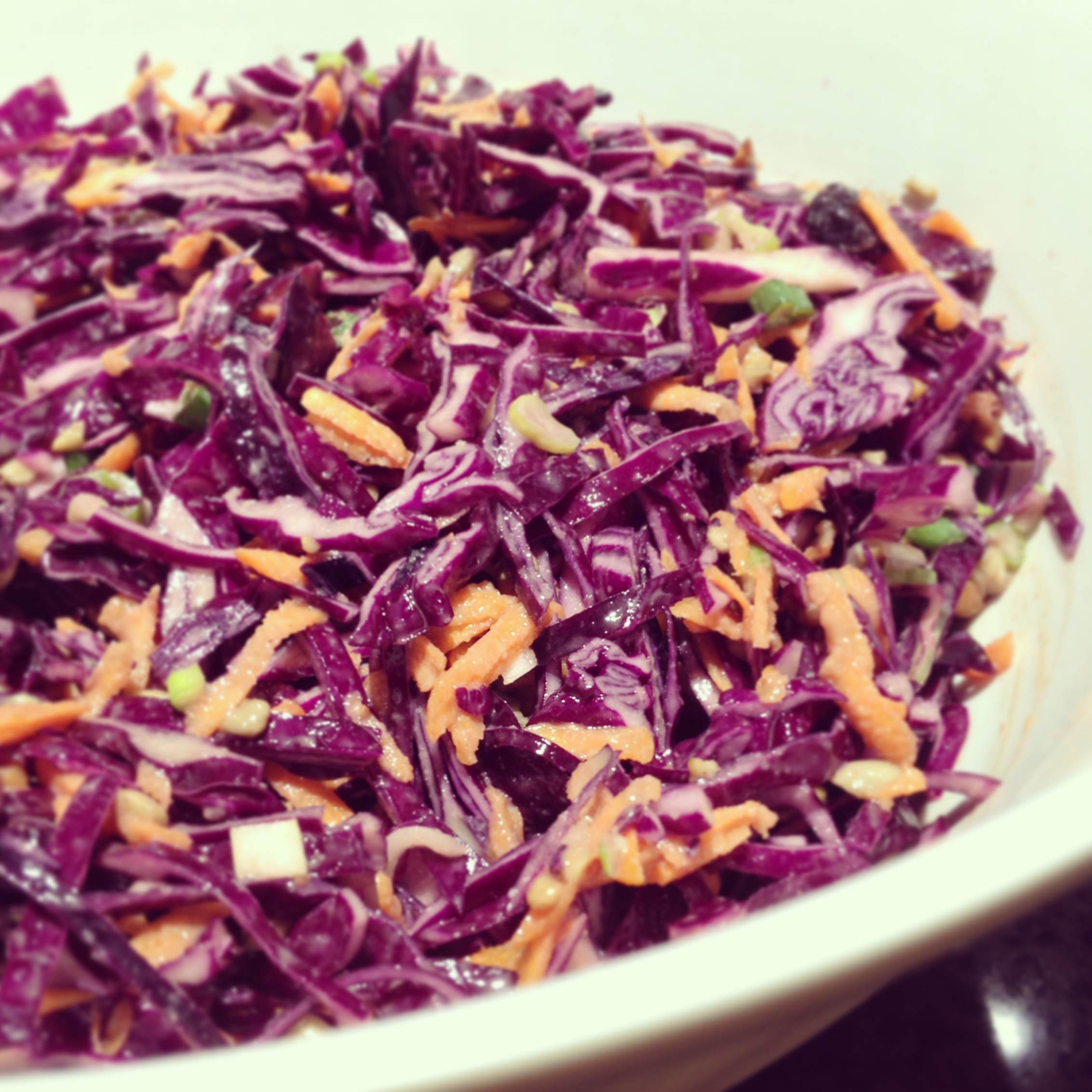 Healthy Red Cabbage Recipes  Healthy Red Cabbage Coleslaw RecipeThe Naked Label