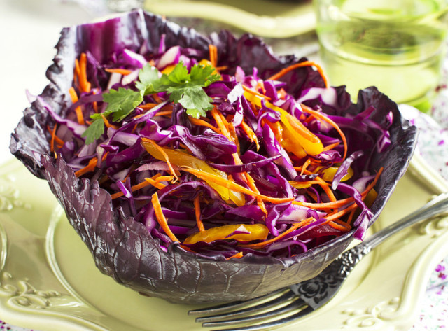 Healthy Red Cabbage Recipes  Red Slaw Recipe
