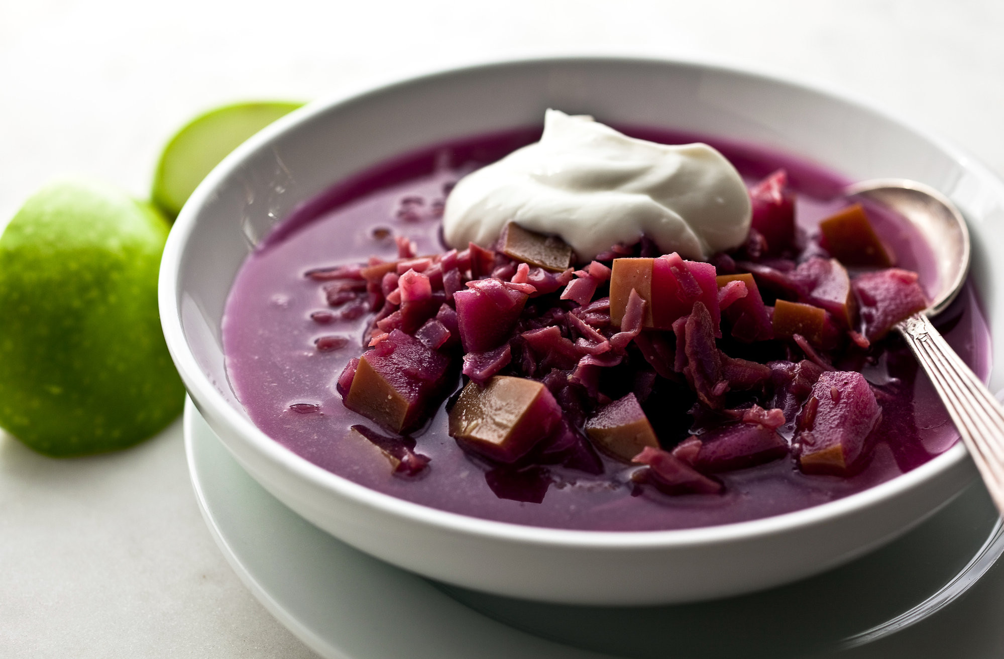 Healthy Red Cabbage Recipes  Red Cabbage and Apple Soup Recipe NYT Cooking