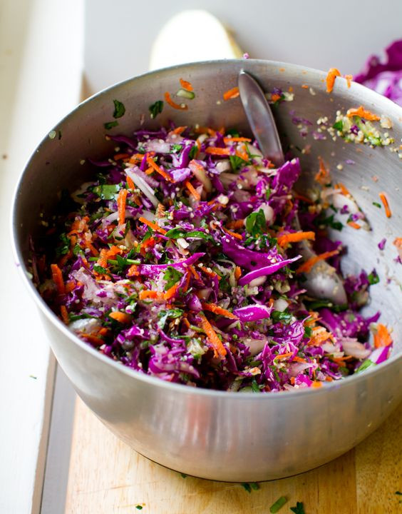 Healthy Red Cabbage Recipes  Best 25 Rainbow salad ideas on Pinterest