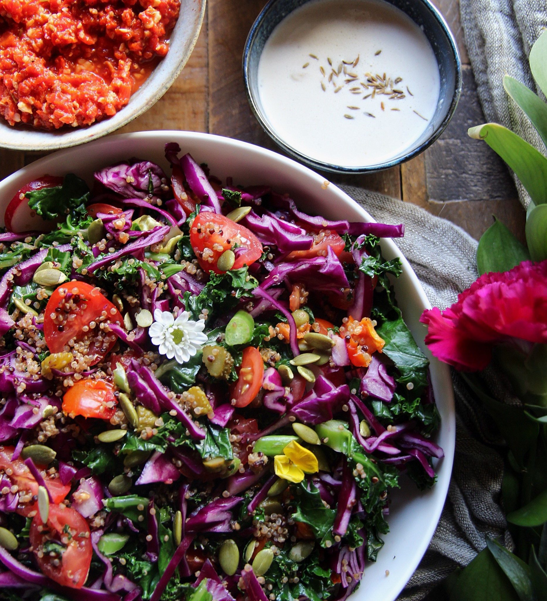 Healthy Red Cabbage Recipes  Super Healthy Kale and Red Cabbage Salad Rebel Recipes
