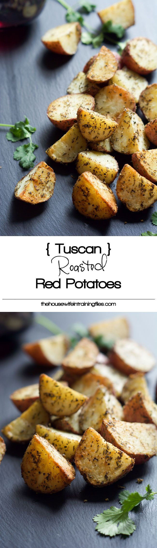 Healthy Red Potato Recipes  Simple Tuscan Oven Roasted Red Potatoes Recipe